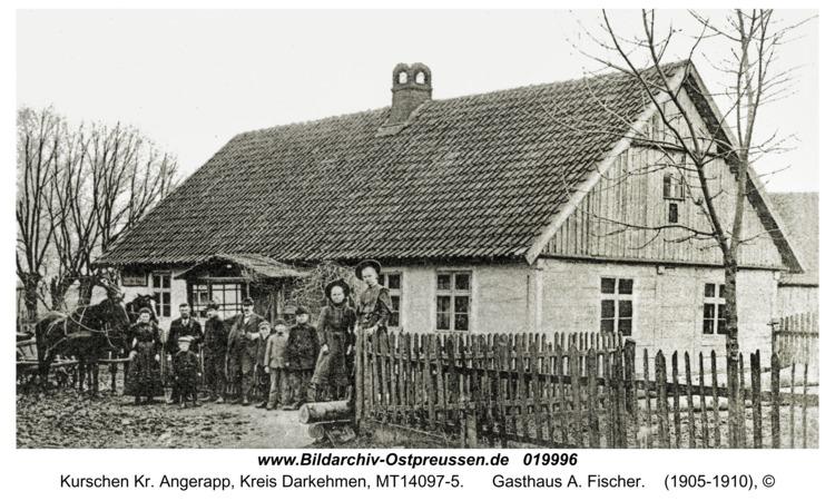 Kurschen Kr. Angerapp, Gasthaus A. Fischer