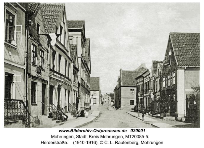 Mohrungen, Herderstraße