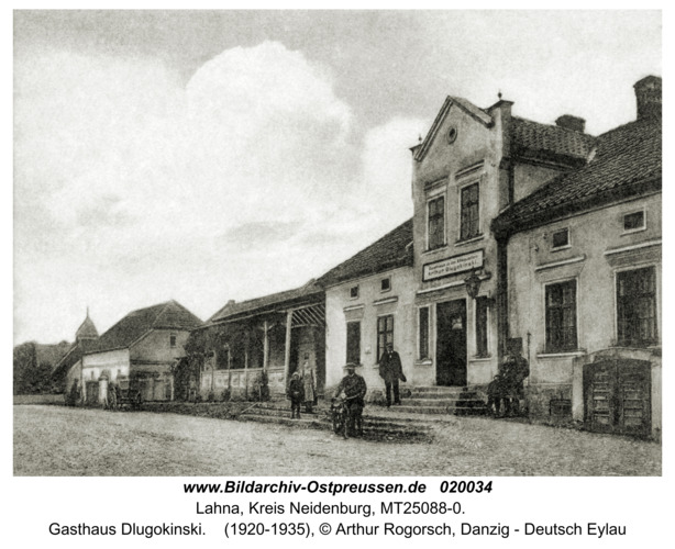 Lahna, Gasthaus Dlugokinski