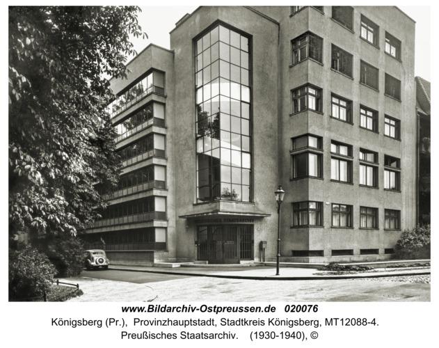 Königsberg, Preußisches Staatsarchiv
