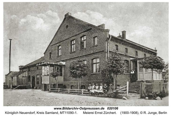 Neuendorf (Kurisches Haff), Meierei Ernst Zürchert