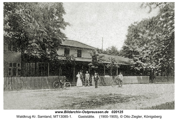 Waldkrug Kr. Samland, Gaststätte