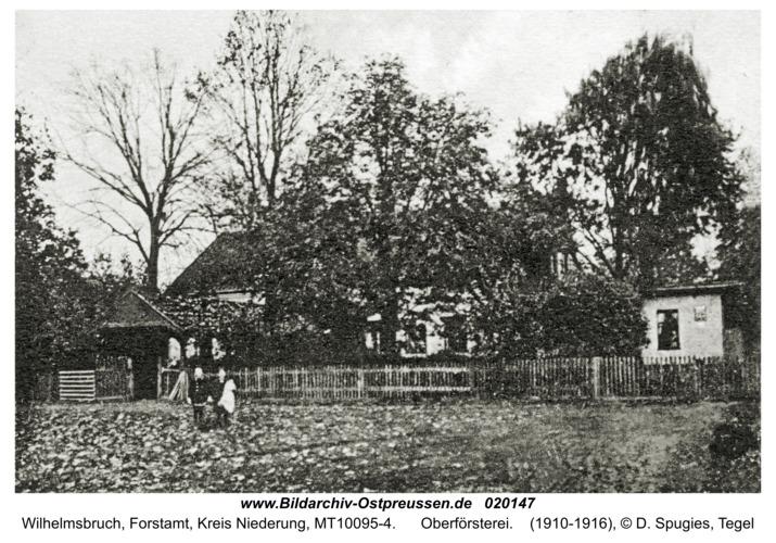 Wilhelmsbruch, Forstamt, Oberförsterei