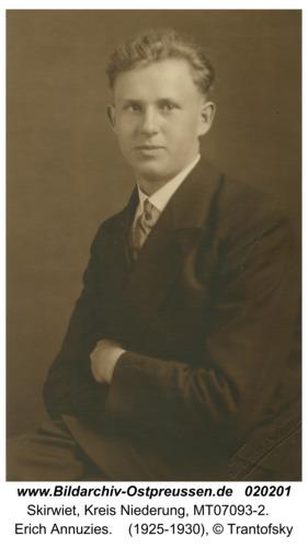 Skirwiet, Erich Annuzies