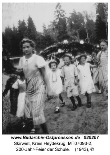 Skirwiet, 200-Jahr-Feier der Schule