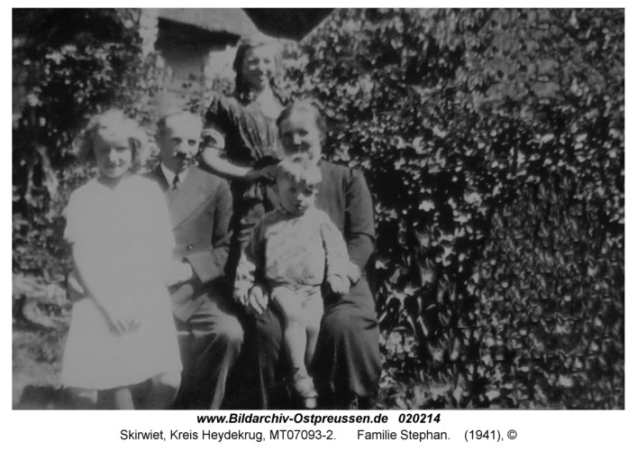 Skirwiet, Familie Stephan