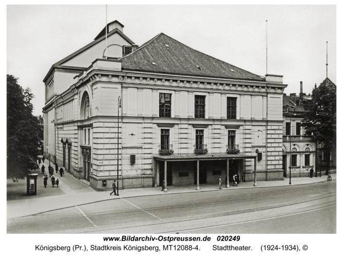 Königsberg, Stadttheater