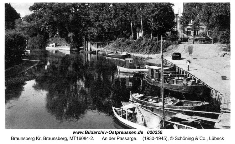 Braunsberg, An der Passarge