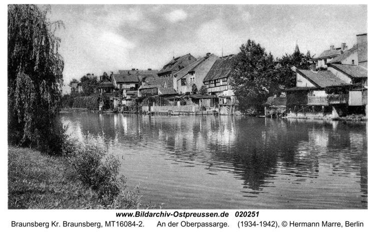 Braunsberg, An der Oberpassarge