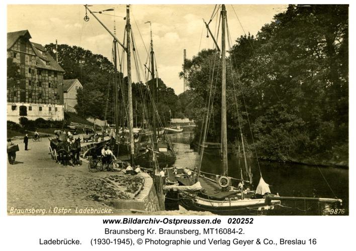 Braunsberg, Ladebrücke