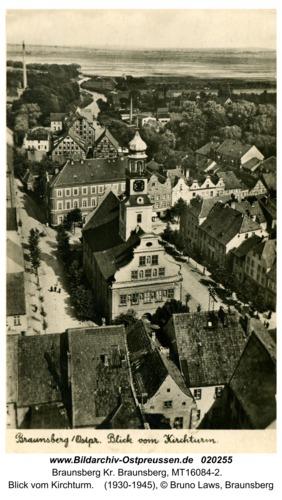 Braunsberg, Blick vom Kirchturm