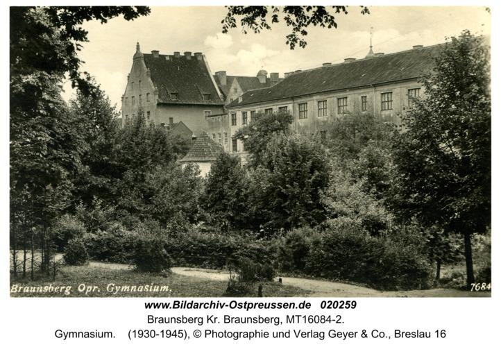 Braunsberg, Gymnasium