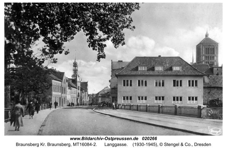 Braunsberg, Langgasse