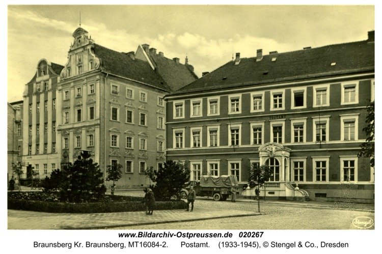 Braunsberg, Postamt