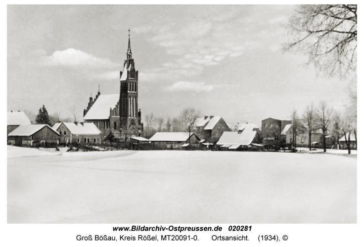 Groß Bößau, Ortsansicht