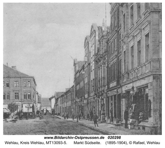 Wehlau, Markt Südseite