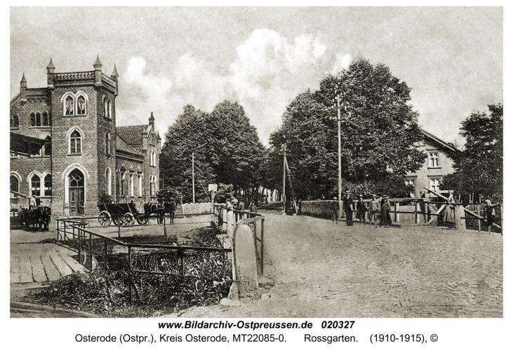 Osterode (Ostpr.), Rossgarten