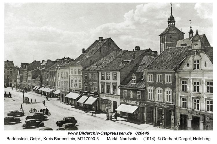 Bartenstein, Ostpr., Markt, Nordseite