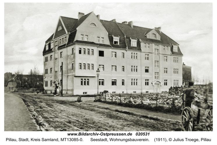 Pillau, Seestadt, Wohnungsbauverein