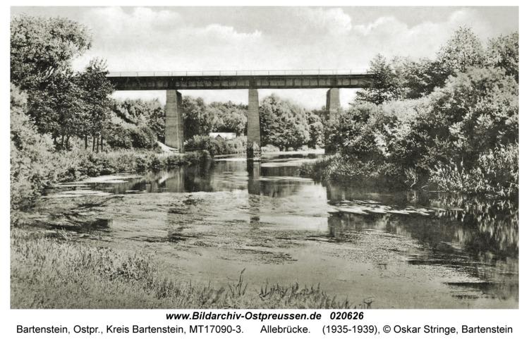 Bartenstein, Allebrücke