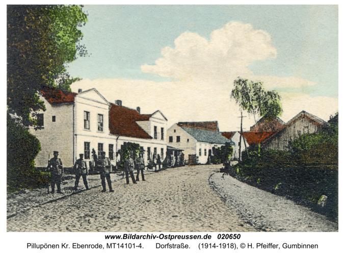 Pillupönen Kr. Ebenrode, Dorfstraße