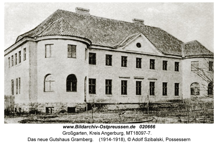 Possessern, Das neue Gutshaus Gramberg