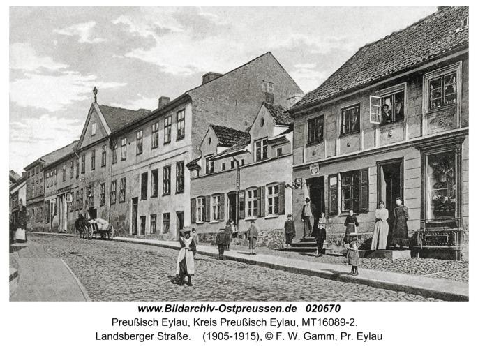 Preußisch Eylau, Landsberger Straße