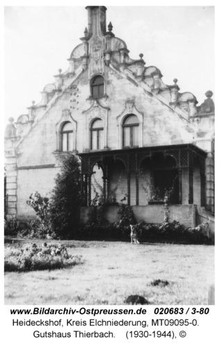 Heideckshof, Gutshaus Thierbach