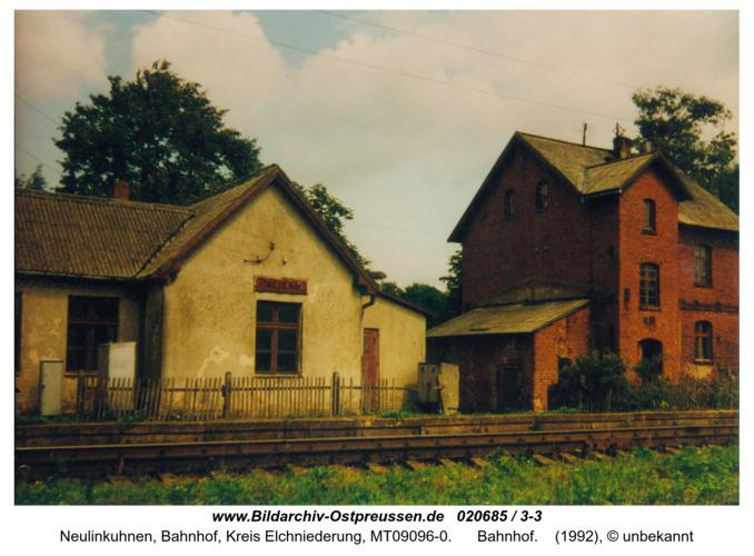 Neulinkuhnen, Bahnhof