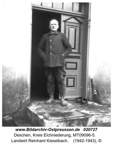 Deschen, Landwirt Reinhard Kieselbach