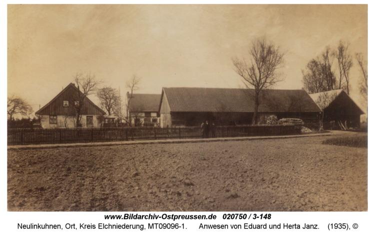 Neulinkuhnen, Anwesen von Eduard und Herta Janz