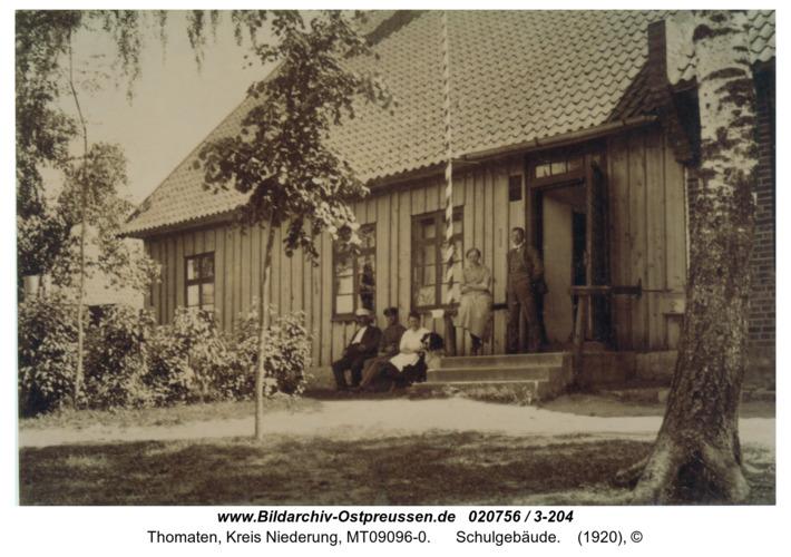 Thomaten, Schulgebäude