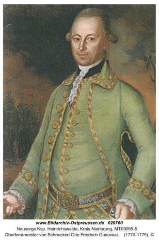 Neusorge, Oberforstmeister von Schnecken Otto Friedrich Gusovius
