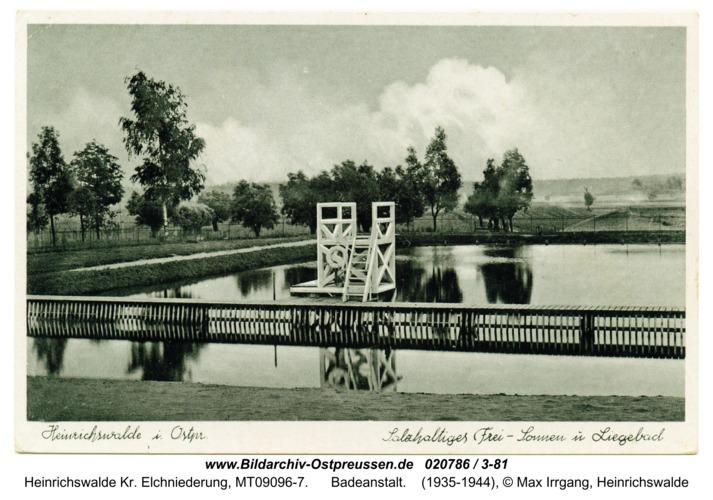 Heinrichswalde, Badeanstalt