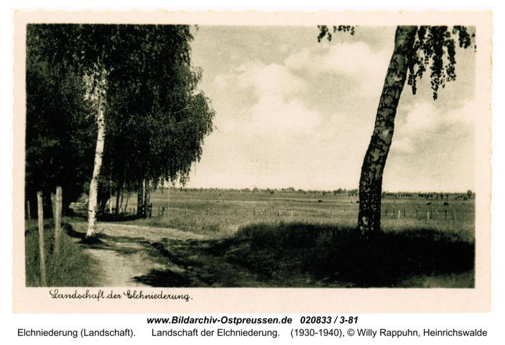Landschaft der Elchniederung