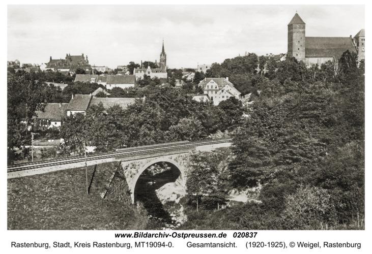 Rastenburg, Gesamtansicht