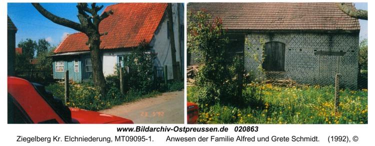 Ziegelberg, Anwesen der Familie Alfred und Grete Schmidt