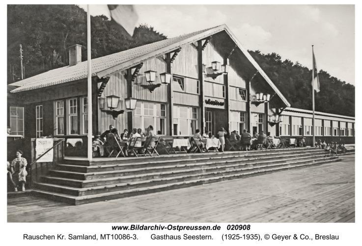 Rauschen Kr. Samland, Gasthaus Seestern