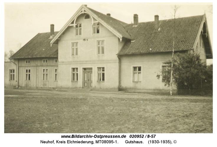 Neuhof, Gutshaus