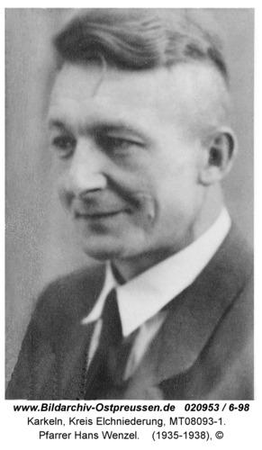 Karkeln, Pfarrer Hans Wenzel