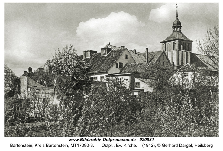 Bartenstein, Ostpr., Ev. Kirche