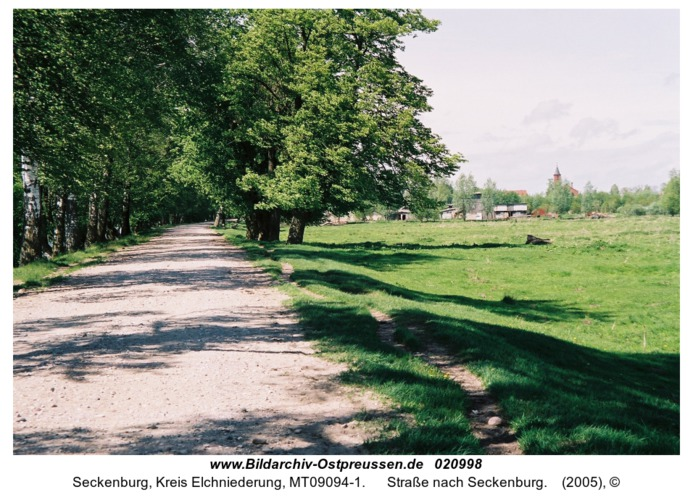 Seckenburg, Straße nach Seckenburg