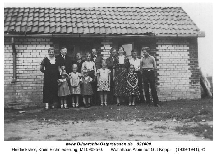 Heideckshof, Wohnhaus Albin auf Gut Kopp