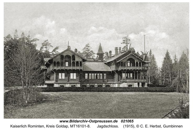 Jagdhaus Rominten, Jagdschloss