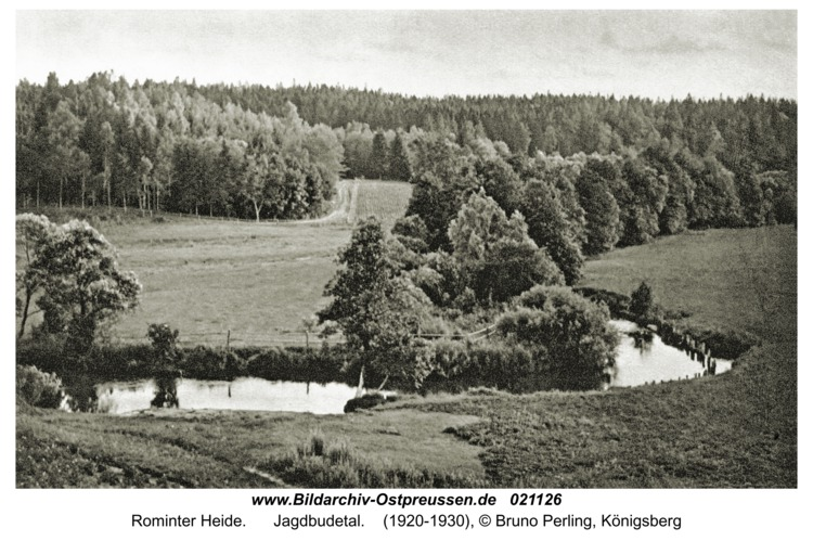 Rominter Heide, Jagdbudetal