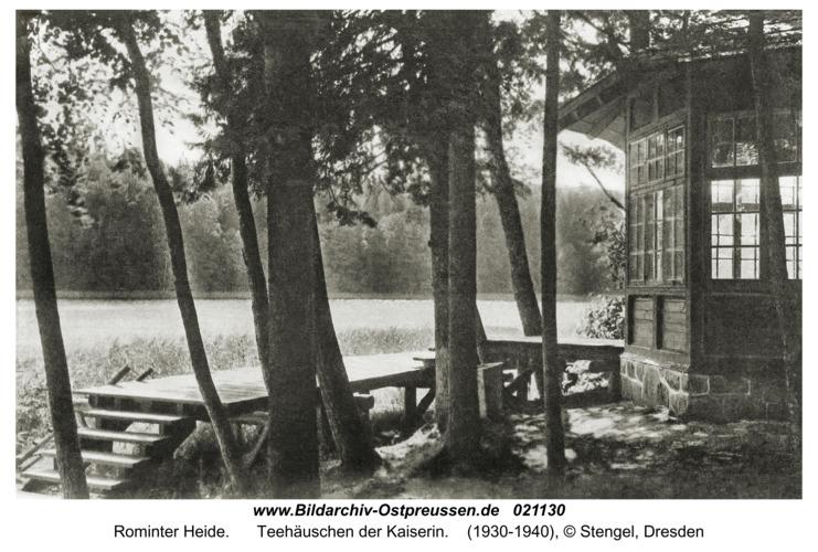 Rominter Heide, Teehäuschen der Kaiserin