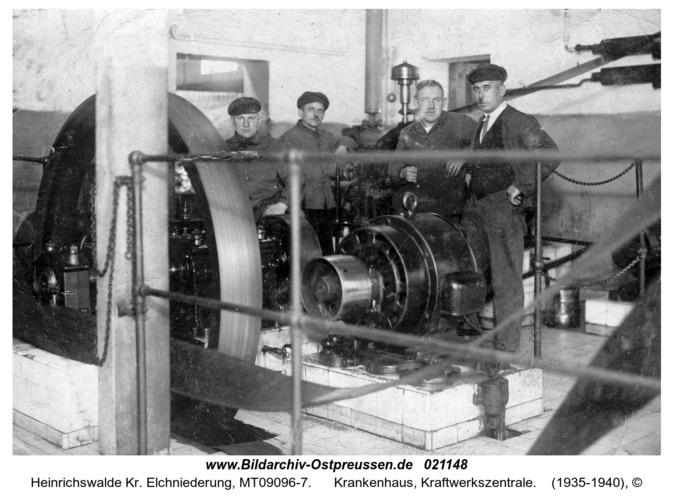 Heinrichswalde, Krankenhaus, Kraftwerkszentrale