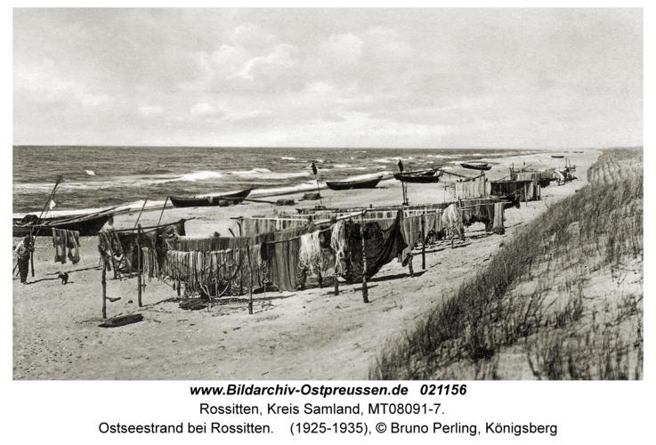 Rossitten Kr. Samland, Ostseestrand bei Rossitten