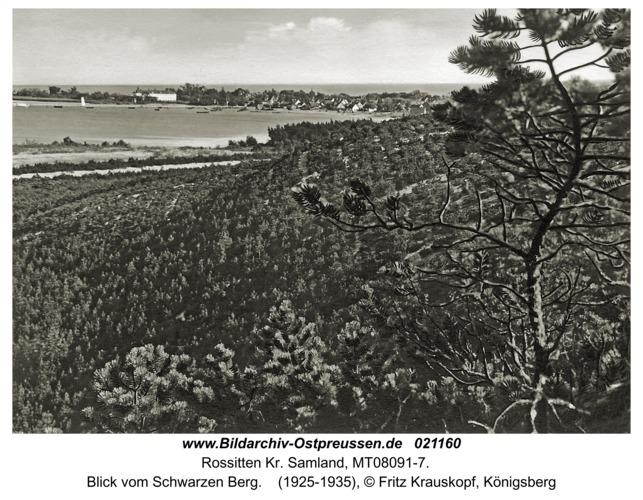 Rossitten Kr. Samland, Blick vom Schwarzen Berg