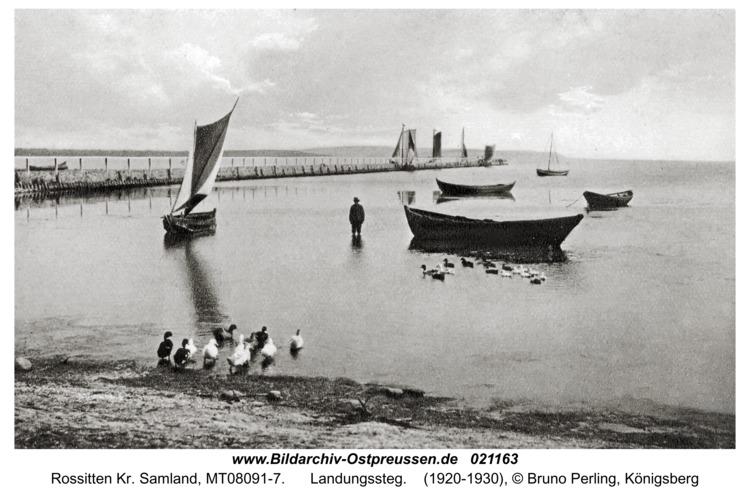 Rossitten Kr. Samland, Landungssteg